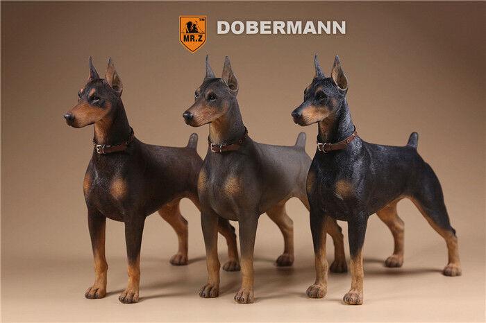 Mr. z 1   6 - skala der serie deutscher doberman schoßhund polizeihunde modell.