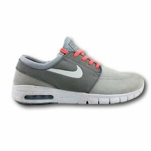 Día grado Cíclope  Nike SB Stefan Janoski Max L Wolf Grey/White/Lava   eBay
