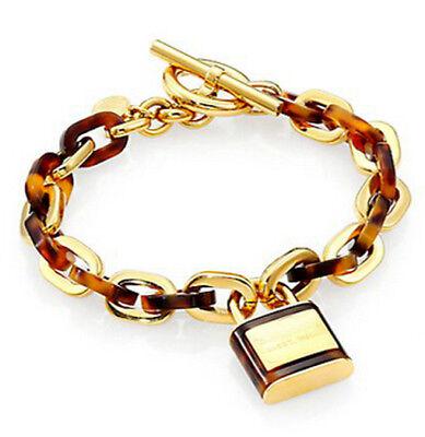 European Jewelry elegant Lock pendant charm link chain Dangle Bracelet Women