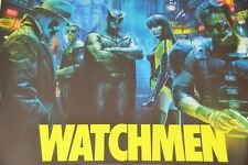 Framed Watchmen Cinema Poster