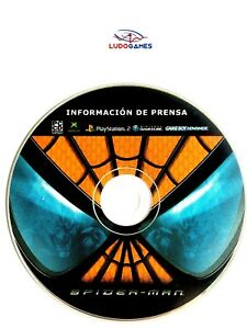 Spiderman-Press-Massey-Ferguson-Disque-GBA-Gc-PS2-Xbox-PC-Jeu-Unpublished