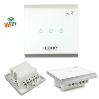 Wireless 86 Smart Home Automation Wifi Lighting Control Wall Touch Panel Switch