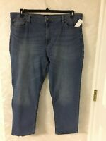 New-Men's-Basic Editions-Denim--Jeans--Blue--Size 38 X 32