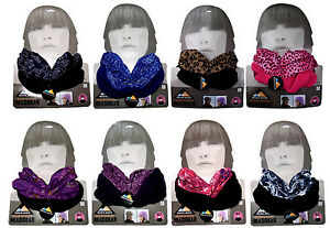 Ladies-Snood-Scarf-Multifunctional-Neck-Warmer-Bandana-Winter-Warm-New