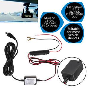 Car-Dash-Camera-Cam-Hard-Wire-Kit-Mini-USB-For-Nextbase-101-112-Mini-2-3-G1w