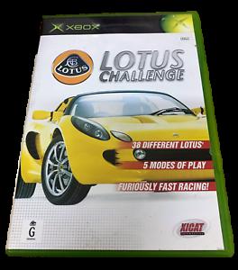 Lotus Challenge XBOX Original PAL *Complete*