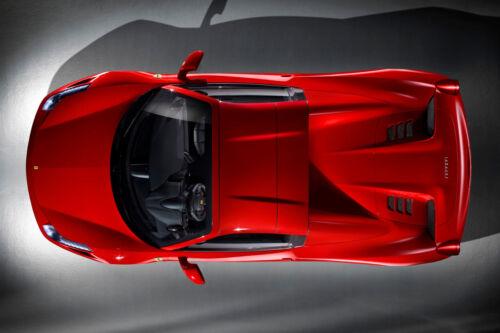 2015 FERRARI 458 SPYDER CAR POSTER PRINT 24x36 HI RES 9MIL PAPER
