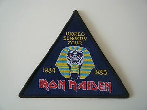 Iron Maiden World Slavery Tour Patch