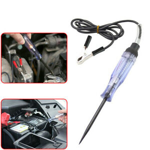 1x Car Voltage Circuit Tester For DC System Probe Continuity Auto Test Light Top
