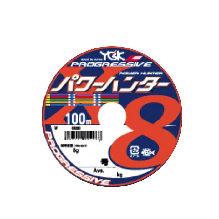 YGK POWER HUNTER PROGRESSIVE X8 100m (18 Linking)  10 1800m