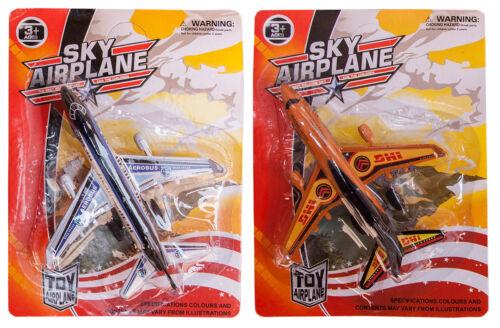 Sky Airplane Passagierflugzeug Flugzeug Flugzeuge 11x12cm Friktionsantrieb Großhandel & Sonderposten Spielzeug