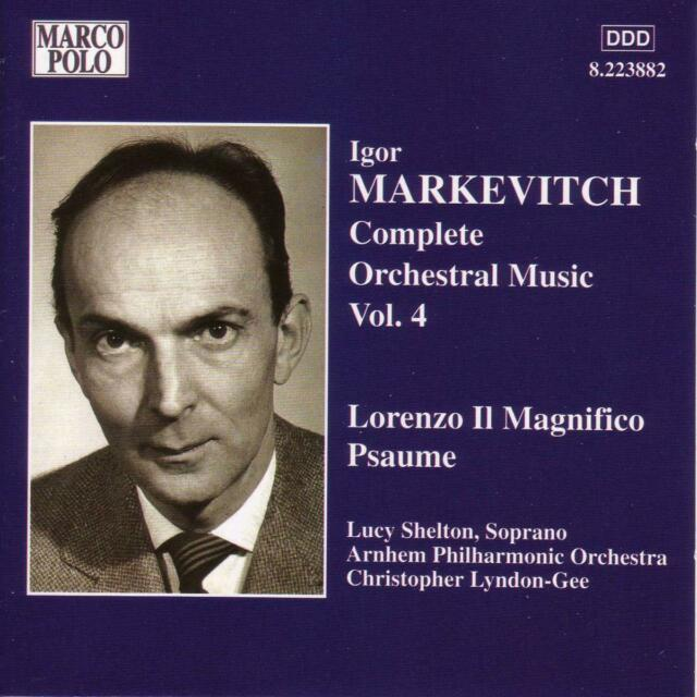 Lucy Shelton / Christopher Lyndon-Gee - Markevitch: Complete Orchestral Music...