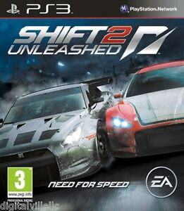 nfs shift 2 unleashed ps3 playstation 3 brand new need for speed