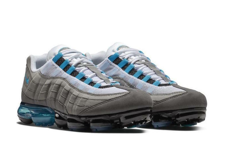 Nike Air Vapormax 95 Neo Turquoise Size 8.5-10 Grey Black Medium Ash AJ7292-002