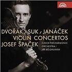 Dvorák, Suk, Janácek: Violin Concertos (2015)
