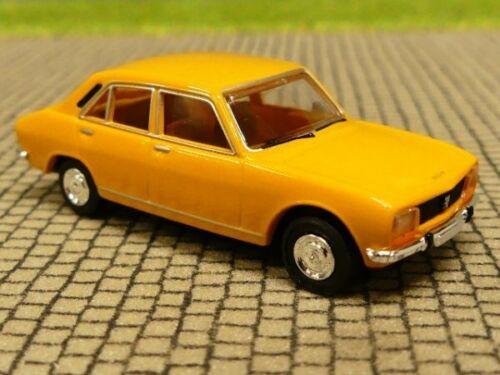 1//87 Brekina Peugeot 504 gelb 29115