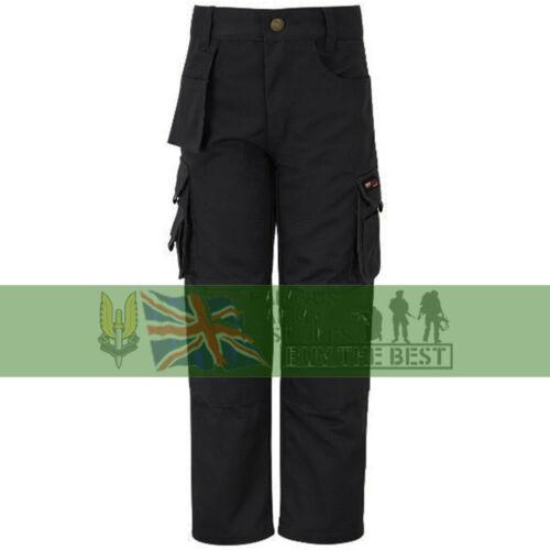 Tuff stuff Pro Work Junior Trousers Kids 3-13 Yrs Boys Girls Workwear Cargo Pant