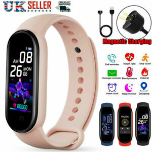 2021 Smart Watch Bluetooth M5 Fitness FIT#BIT Tracker Heart Rate Step Count