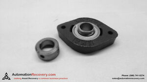 UCNFL202 15mm Bearing Thermoplastic Flanged Cast Housing 2 Bolt Mounted 17738