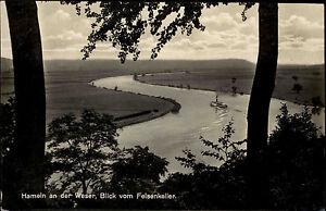 Hameln-an-der-Weser-Niedersachsen-s-w-AK-1940-Blick-vom-Felsenkeller-ungelaufen
