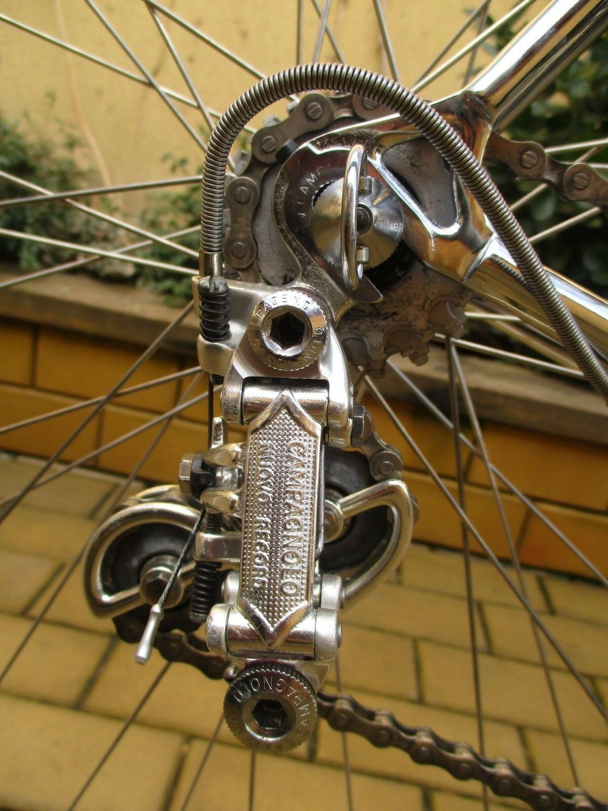 Vintage bicycle Krapf-Pantographed - Campagnolo Record   here has the latest
