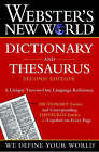 Webster's New World Dictionary and Thesaurus by Houghton Mifflin Harcourt Publishing Company (Paperback, 2002)