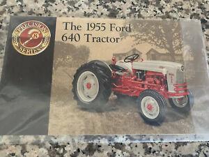 Ertl Precision  Series 1/16 1955 Ford 640 Tractor