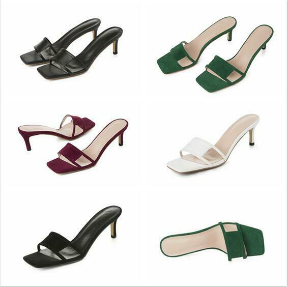 2019 New Women Sandal shoes Slipper Stylish Summer Heel Stiletto Gladiator Party