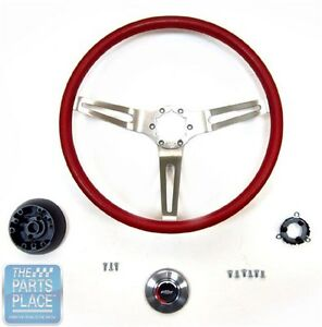 1969 72 Chevrolet 3 Spoke Sport Steering Wheel Kit With