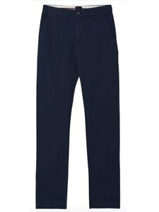 Gant-Men-039-s-Soho-Slim-Comfort-Navy-Blue-Chinos-Size-40-x-34
