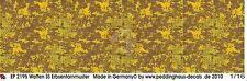 "Peddinghaus 1/16 Waffen-SS Erbsentarn ""Platanen"" type Camouflage Pattern 2195"