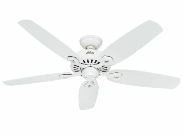 Hunter Fan 50566 Builder Elite Ventilateur de plafond 132/cm Nickel Bross/é