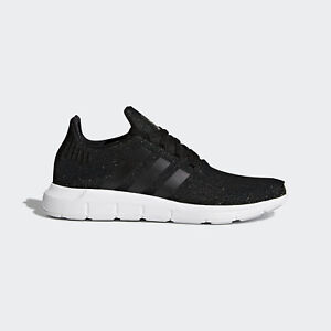Adidas Originals Swift Run W  CQ2018  Women Casual Shoes Black White ... 94cc4f39e