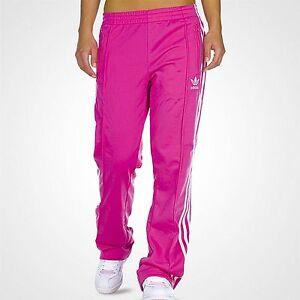La foto se está cargando Adidas-Mujer-Firebird -TP-Bloom-ejecutar-Rosa-Blanco- 574516e88bb5f