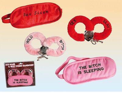 Spielzeugset für Erwachsene Sexy Set Sexyset Schlafmaske u Fessel Neu