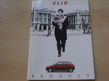 52455) Renault Clio A Prospekt 03/1993