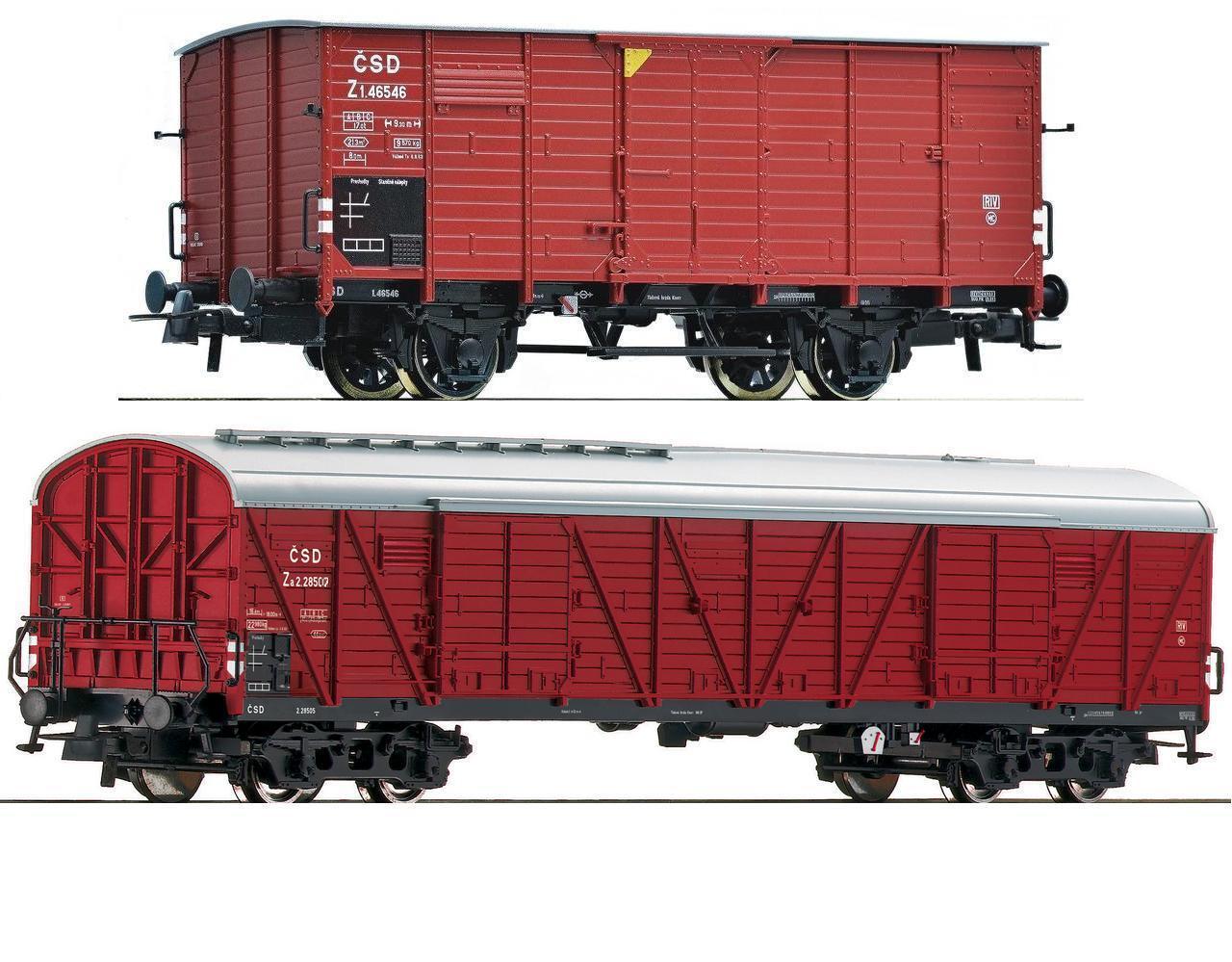 ROCO h0 66213 66639 carri merci za (Varsovia) Z (g10) CSD ep.3 NUOVO a 72164 72226