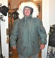 Greenbrier Industries Parka Extreme Cold Weather N-3b Us Military Snorkel Coat L