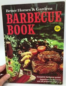 Details about Vintage Better Homes & Gardens Barbecue Book 60s Retro  Recipes all dessert