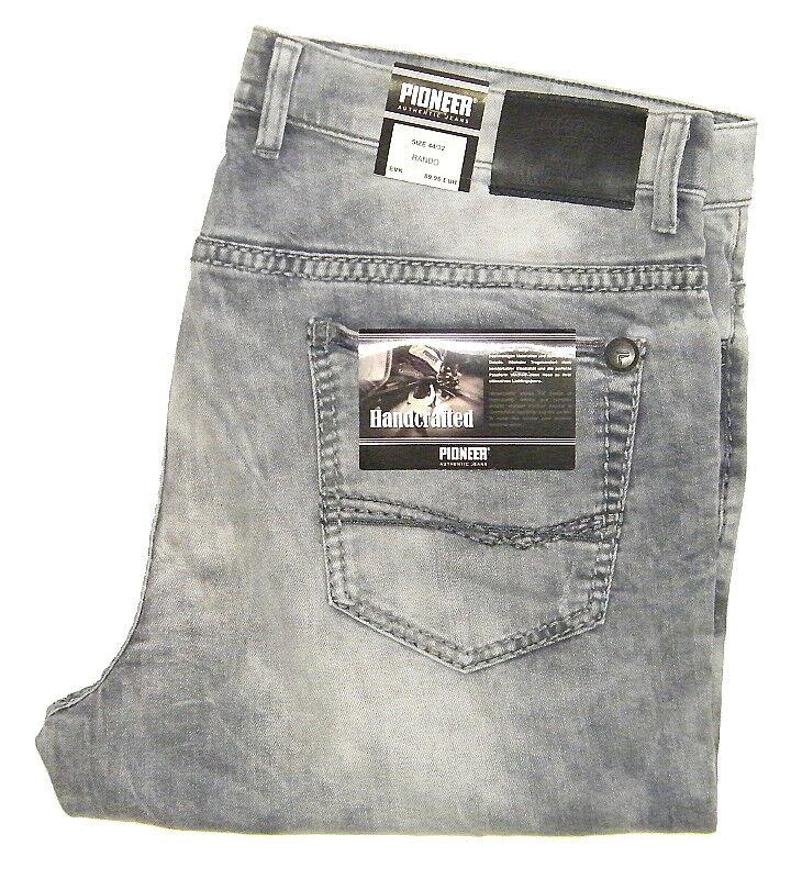PIONEER PIONEER PIONEER ® RANDO W 35 L36 Stretch Jeans grau USED HANDCRAFTED 9873.324 e1ba06