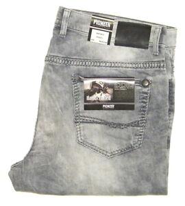 Pioneer-Rando-W-40-L34-Stretch-Jeanshose-Grey-Used-Handcrafted-1654-9873-324