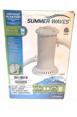 Summer Waves Universal Water Pump With Gfci For Above