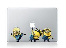 "Funny yellow Minions Macbook Air Pro Retina 13"" Vinyl Decal Sticker Cover"