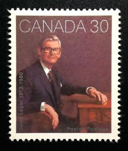 Canada-914-MNH-Jules-Leger-Stamp-1982