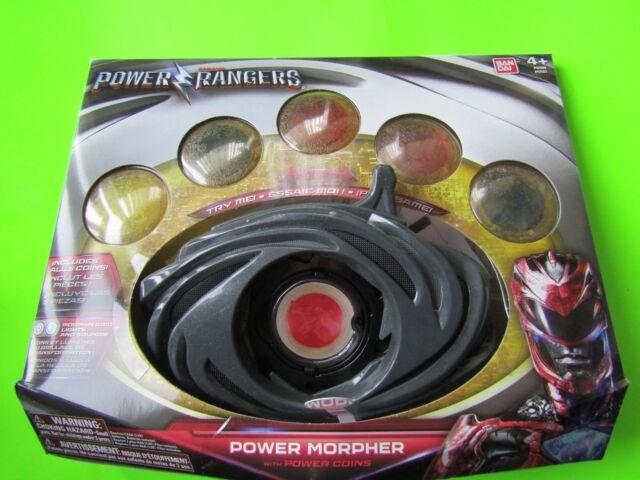POWER RANGERS,POWER MORPHER INCLUDES 5 COINS, BAN DAI