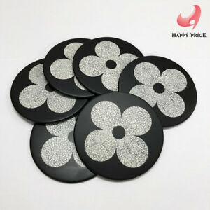 c39acbeaac86 Louis Vuitton Drink Coasters Plastic Set of 6 with Box Giveaway Only ...