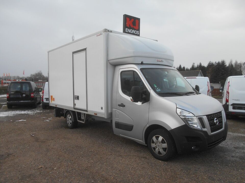 Nissan NV400 2,3 dCi 145 Alukasse m/lift Diesel modelår
