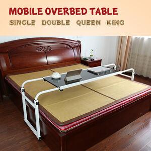 Image Is Loading Mobile Over Bed Laptop Trolley Desk Overbed Hospital