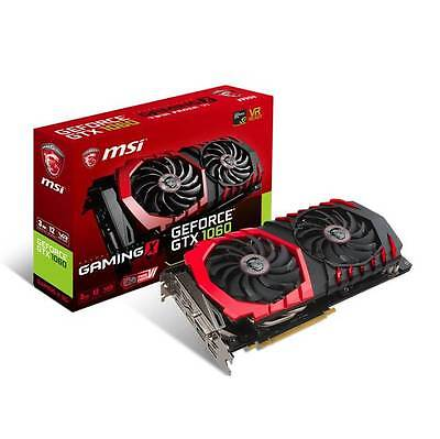 MSI NVIDIA GEFORCE GTX 1060 GAMING X 3G GDDR5 DVI/HDMI/3DisplayPort PCI-Express