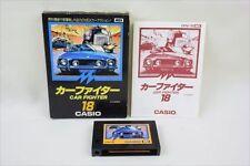 MSX CAR FIGHTER Casio 18 Video Game Import Japan 3160 msx